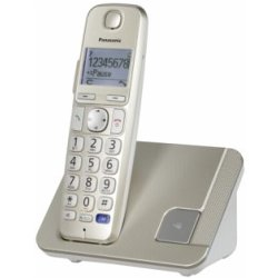 Panasonic KX TGE210 Single Festnetz Telefon