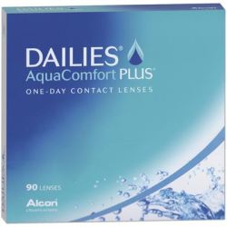 Alcon Dailies AquaComfort Plus (1x90) 14 DIA 8.7 BC 05.00 DPT