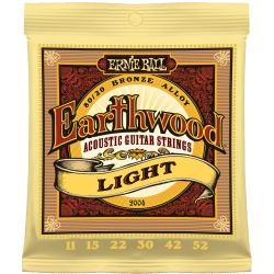 Ernie Ball 2004 Acoustic Guitar Earthwood Light 011 Saitenset