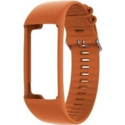 Polar Changeable Wristband Band Größe M L orange für Polar A370 (91066023)
