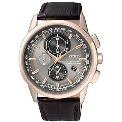 Citizen Eco Drive Funkuhr AT8113 12H