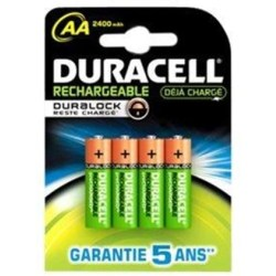 Duracell Pre Charged AA 2500mAh (HR06 P)