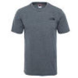 The North Face Männer T Shirt Face Simple Dome in grau