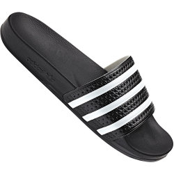 Adidas Adilette Core Black White UK 11