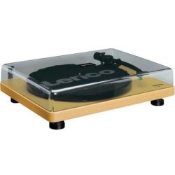 Lenco L 30 Wood USB record player