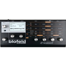 Waldorf Blofeld Virtual Analog Synthesizer schwarz