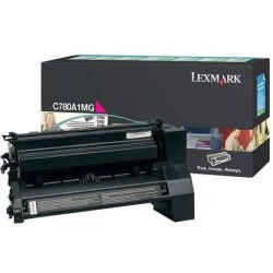 Lexmark Original Tonerkartusche magenta return program C780A1MG