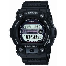 Casio G Shock G Rescue Herrenchronograph in Schwarz GW 7900 1ER