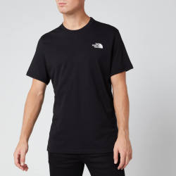 The North Face S S Simple Dome Tee T Shirt Gr M schwarz