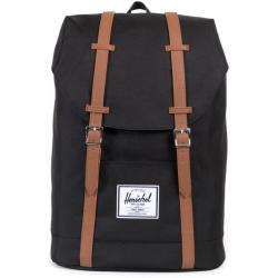 Herschel Retreat Backpack 43 cm black tan synthetic leather