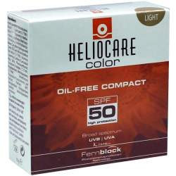 Heliocare Compact Make Up SPF50 Light Ölfrei 10g
