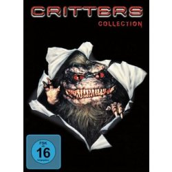 Critters Collection 4 DVDs