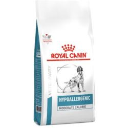 Royal Canin Veterinary Diet Hund Hypoallergenic HME23 Moderate Calorie Trockenfutter 14kg