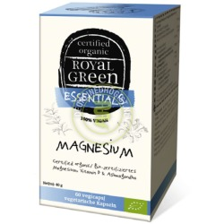 Magnesium Organic (60 vcaps) Royal Green
