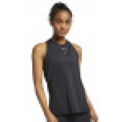 Nike Tank Top All Over Mesh Damen schwarz weiß XS