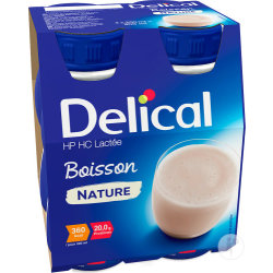 Delical Melkdrank Hphc Natuur 4x200ml Nf