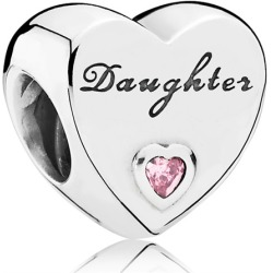 Pandora 791726PCZ Charm Daughter Herz