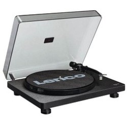 Lenco L 30 Black USB record player