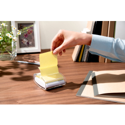 Post it Haftnotizen Z Notes 76 x 76mm gelb 6 x 100 Blatt