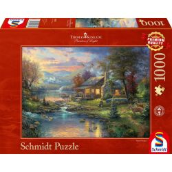 Schmidt Spiele Puzzle »Im Naturparadies« 1000 Puzzleteile Made in Germany