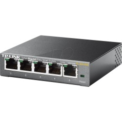 tp link Easy Smart TL SG105E Switch 5 fach