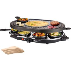 Princess Raclette Grill 8 Personen Oval 1200 W 162700