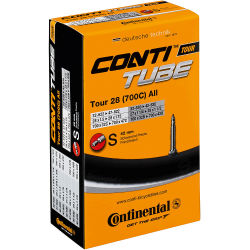 Continental Fahrradschlauch 28 Zoll Autoventil