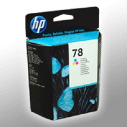 HP Original Druckkopfpatrone color C6578DE