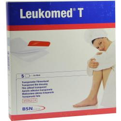 Bsn Medical Leukomed T Steriler Und Transparenter Folienverband 8x10cm Stück 5 (7238104)