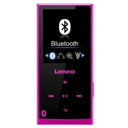 Lenco Xemio 760 BT MP3 Player pink schwarz 8 GB