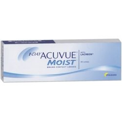 Acuvue 1 Day Acuvue Moist (1x30) 14.2 DIA 9 BC 01.25 DPT