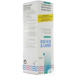BauschLomb Sensitive Eyes Plus Kochsalzlösung 355ml