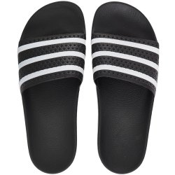 Adidas Adilette Core Black White UK 5 EU 38