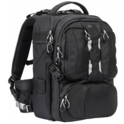 Tamrac T0210 schwarz Anvil Slim 11 Backpack inkl. Regenschutz Gurt Medium