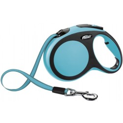 Flexi Leine New Comfort Tape Leash L (5 m) Blau