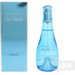COOL WATER WOMAN eau de toilette spray 100 ml