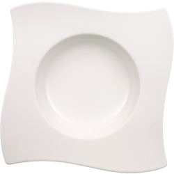 Villeroy Boch Suppenteller New Wave 26cm weiß