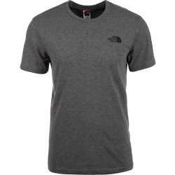 The North Face S S Simple Dome Tee T Shirt Gr L schwarz