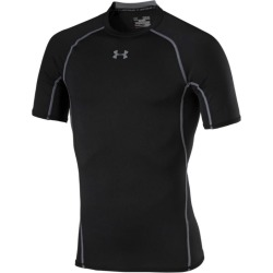 Under Armour Herren Kompressions Shirt UA HeatGear® Armour kurzärmlig Schwarz LG